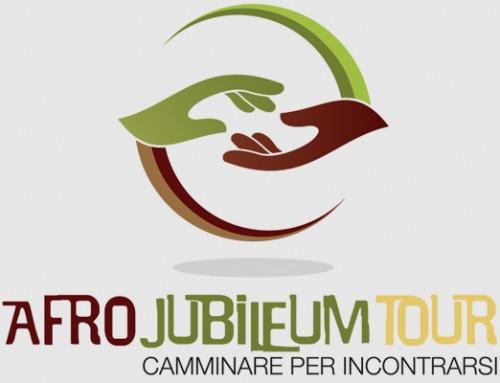 Afro Jubileum Tour › logo e immagine coordinata
