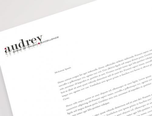 Audrey › logo e immagine coordinata