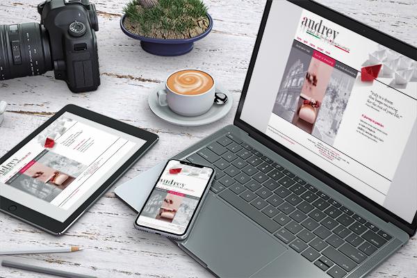 Realizzazione sito Audrey | alexiamasi.com