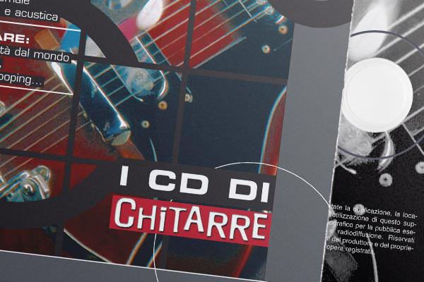 Impaginazione grafica rivista chitarre for Chitarre magazine
