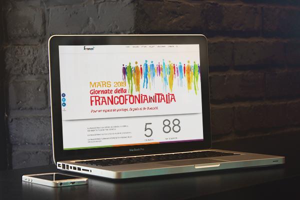 Realizzazione sito multilingua Francoplus | alexiamasi.com