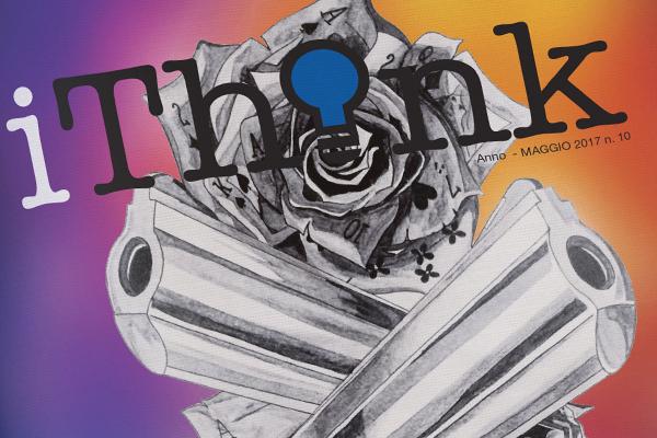 Impaginazione grafica rivista iThink | alexiamasi.com