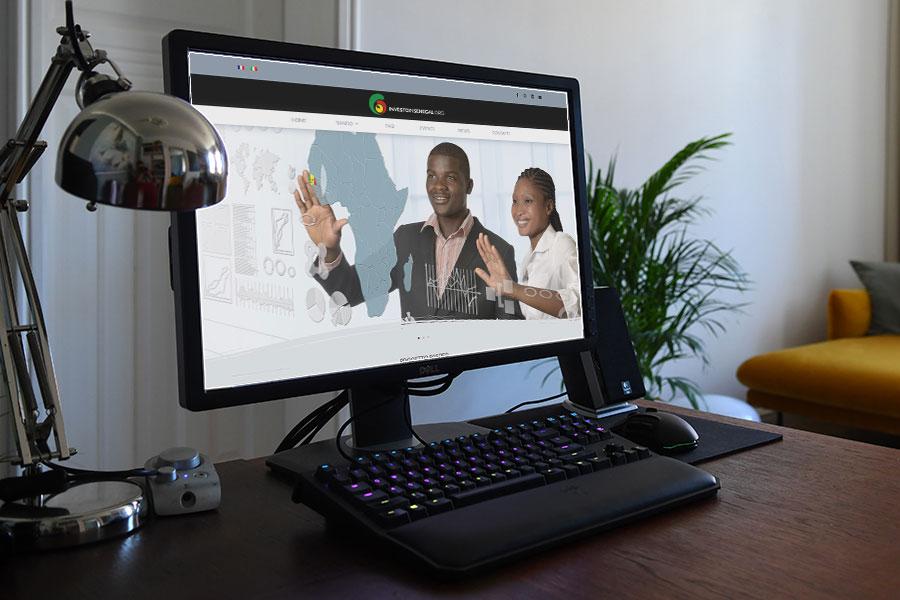 Realizzazione sito web multilingue Investo in Senegal