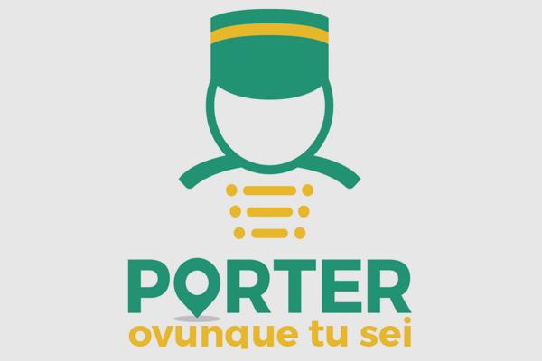 Progettazione logo marchio Porter | alexiamasi.com