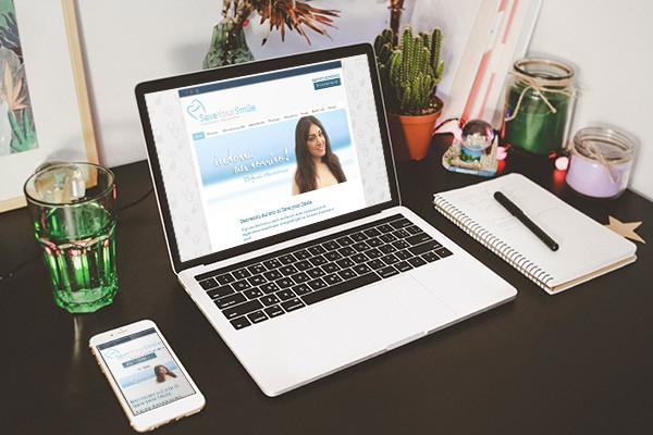 Realizzazione sito web Save your Smile | alexiamasi.com