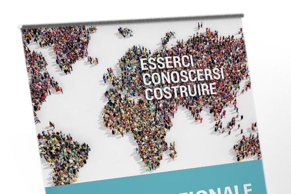 Creatività roll-up Summit Nazionale delle Diaspore 2018 | alexiamasi.com