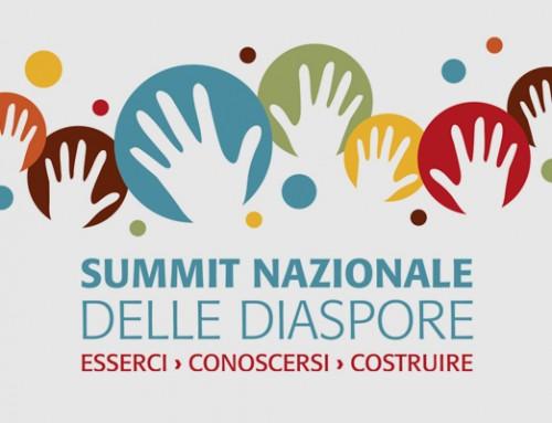 Summit nazionale delle diaspore › logo e immagine coordinata